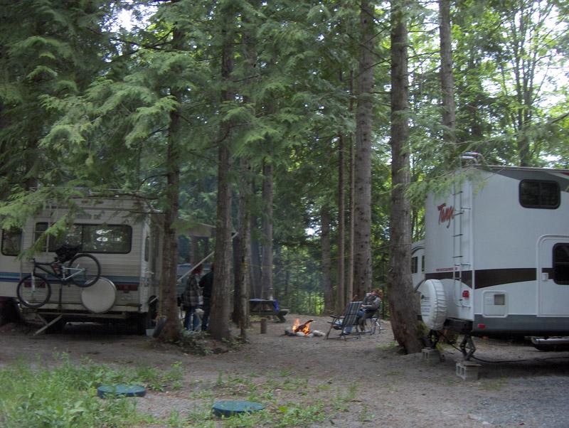 Vancouver Island RV Campsite
