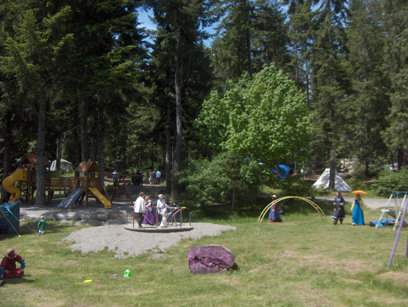 Nanaimo Campground playground